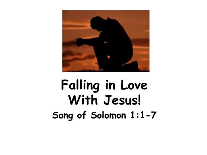 falling in love with jesus n.