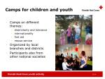 camps for children and youth