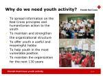 why do we need youth activity1