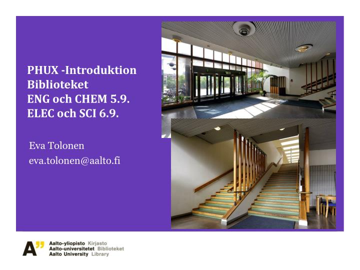 phux introduktion biblioteket eng och chem 5 9 elec och sci 6 9 n.