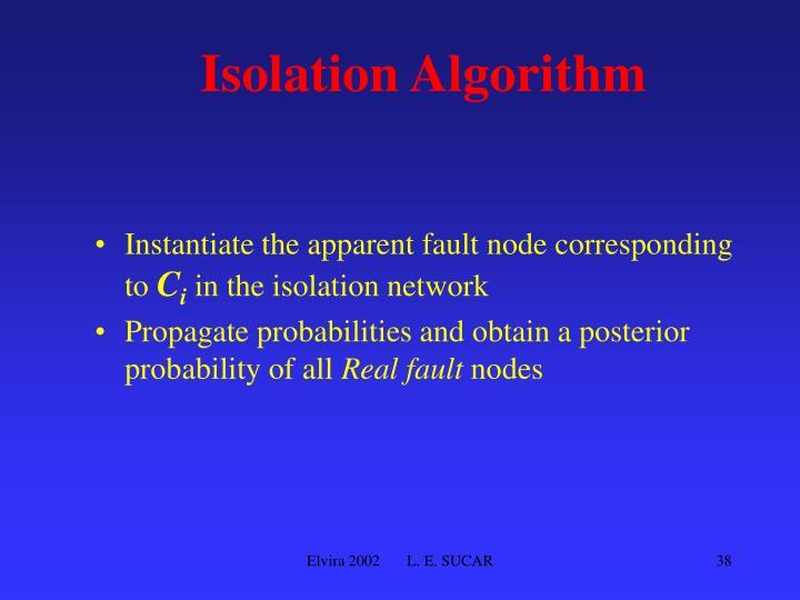 Isolation Algorithm