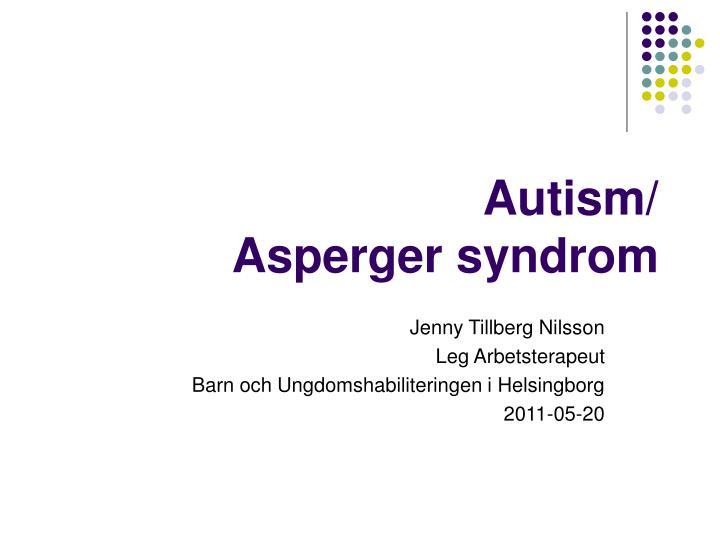 autism asperger syndrom n.