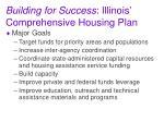 building for success illinois comprehensive housing plan2