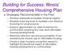 building for success illinois comprehensive housing plan4