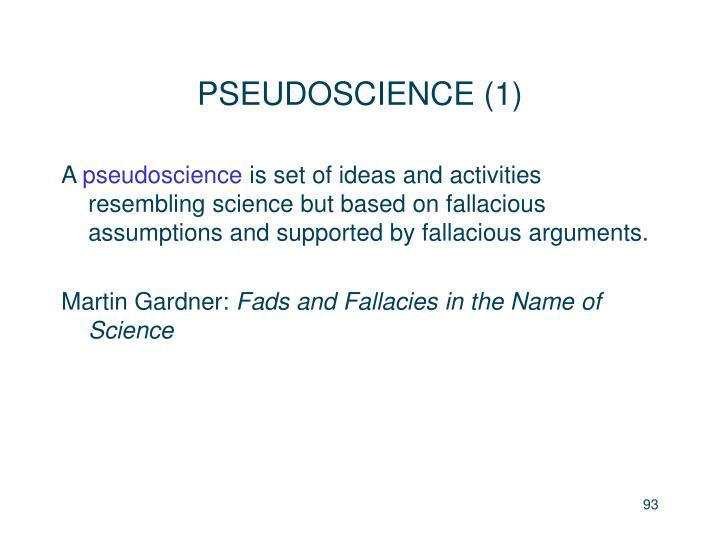 PSEUDOSCIENCE (1)