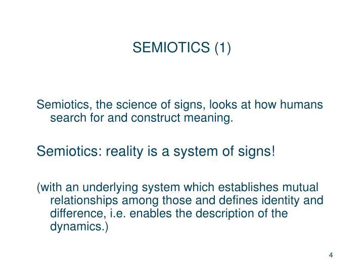 SEMIOTICS (1)