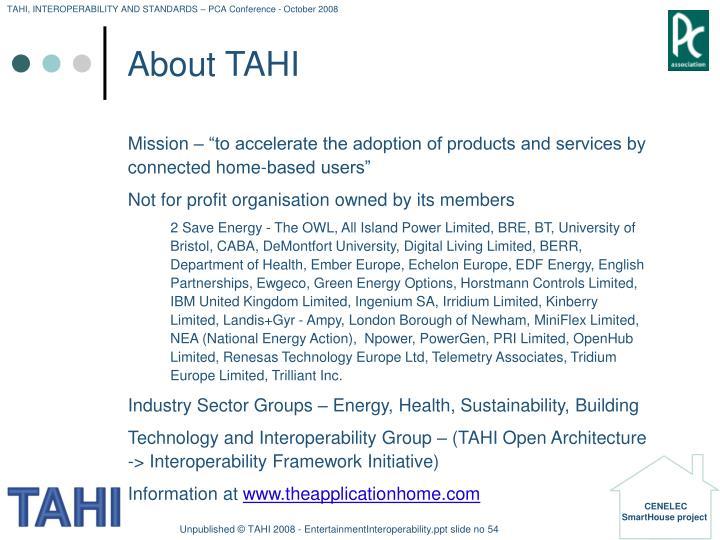 About TAHI