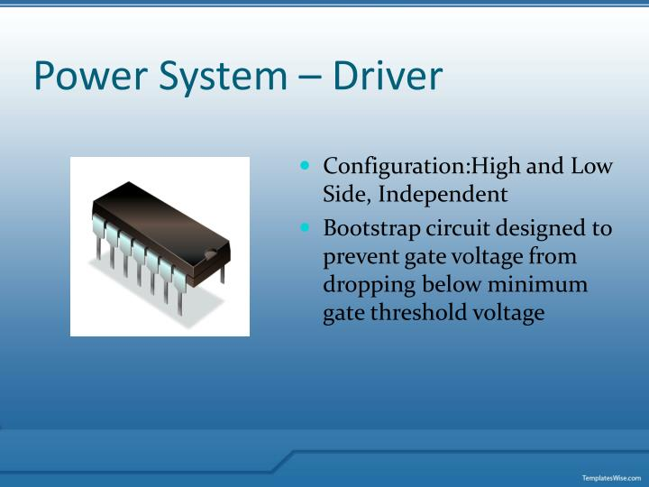 Power System – Driver