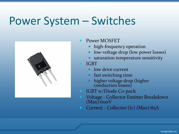 Power System – Switches