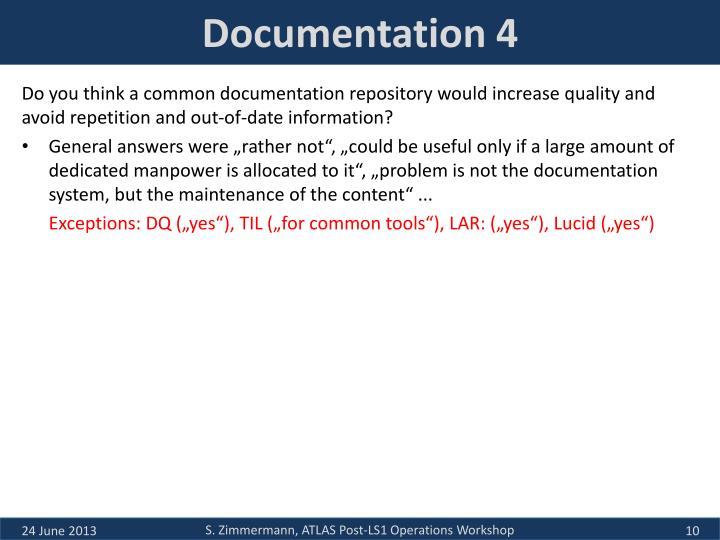 Documentation 4