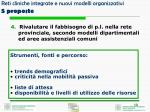 reti cliniche integrate e nuovi modelli organizzativi 5 proposte3