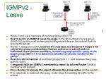 igmpv2 leave1