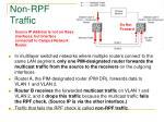 non rpf traffic