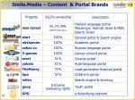 smile media content portal brands