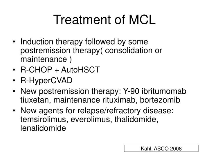 Treatment of MCL