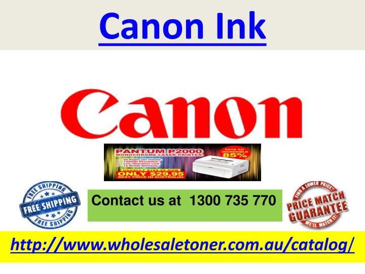 canon ink n.