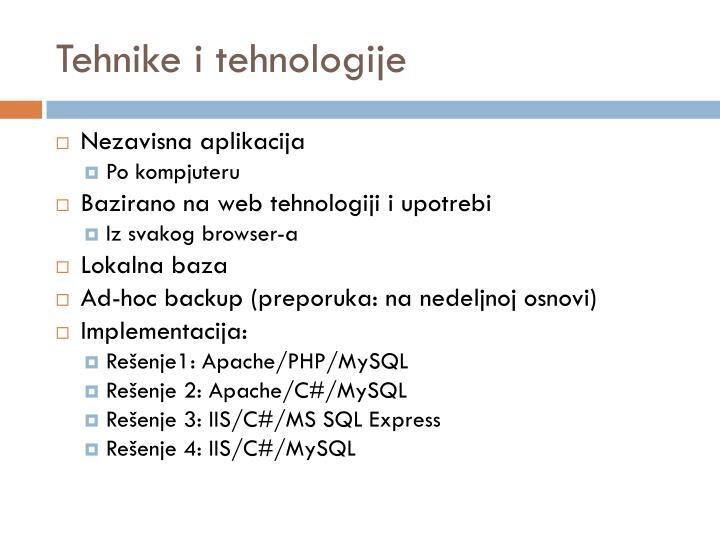 Tehnike