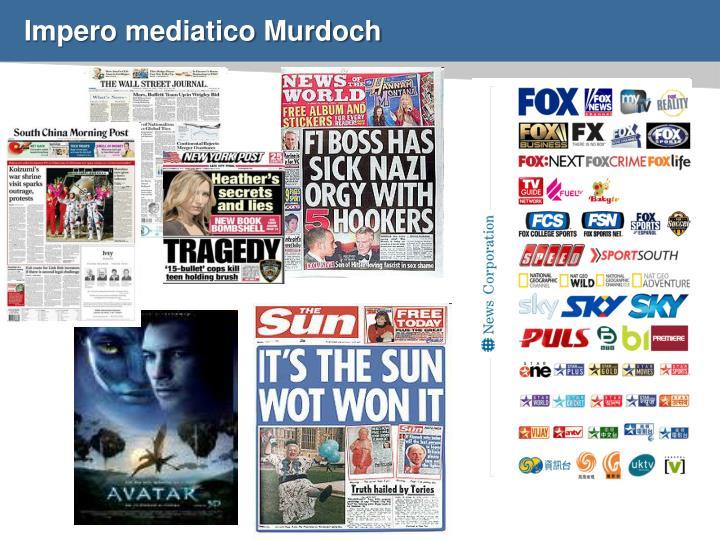 Impero mediatico Murdoch