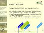 6 results workshops