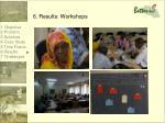 6 results workshops2