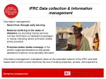 ifrc data collection information management
