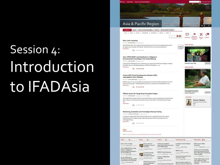 session 4 introduction to ifadasia