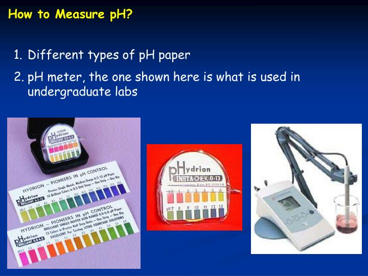 How to Measure pH?