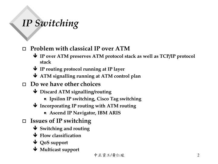 Ip switching1