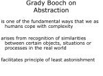 grady booch on abstraction