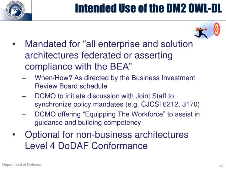 "Mandated for ""all enterprise and solution architectures federated or asserting compliance with the BEA"""