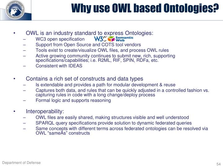 OWL is an industry standard to express
