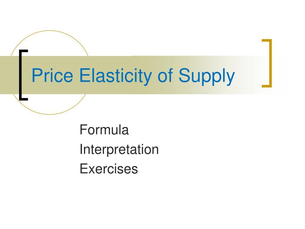 Ppt Price Elasticity Of Demand Powerpoint Presentation Free