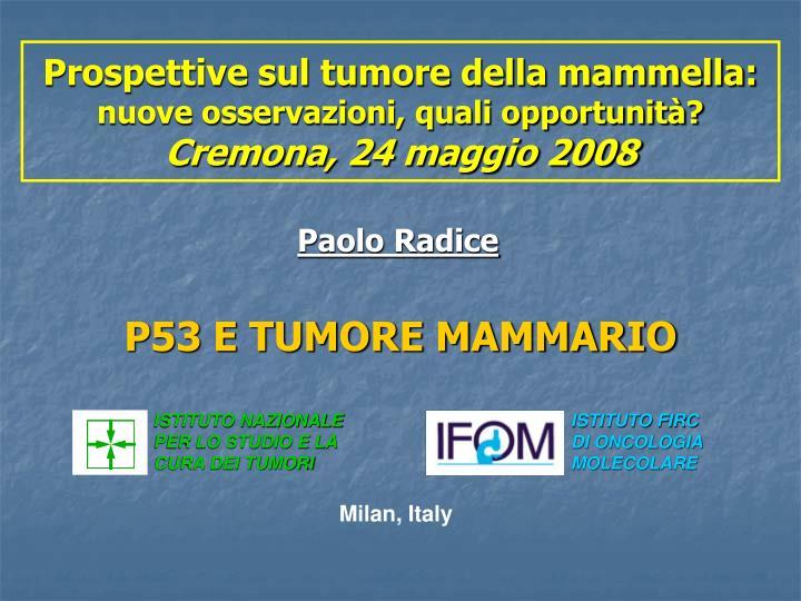 p53 e tumore mammario n.
