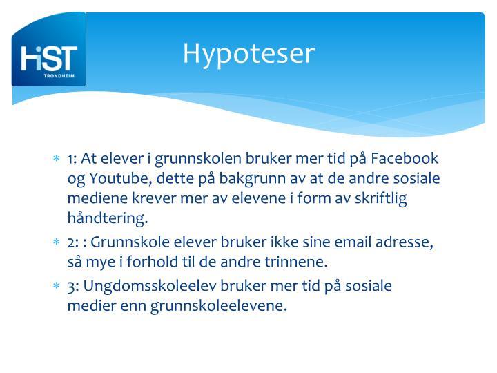 Hypoteser