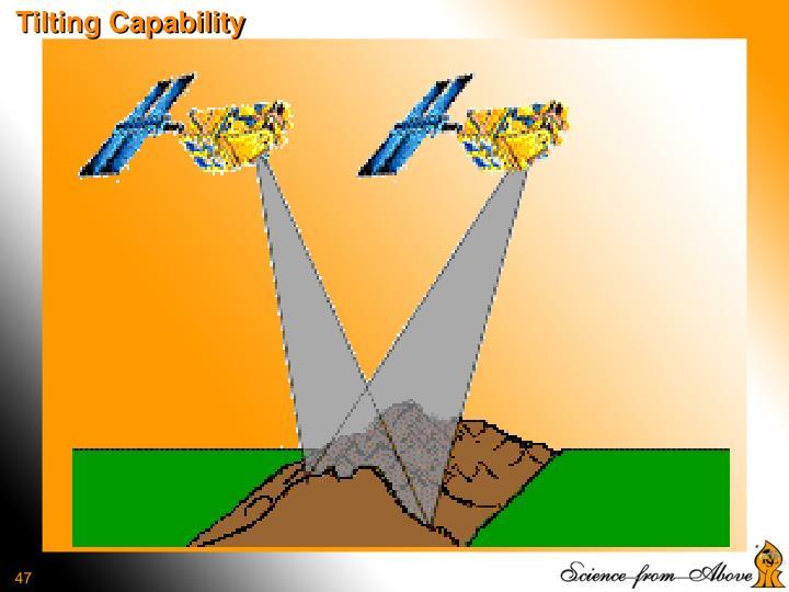 Tilting Capability