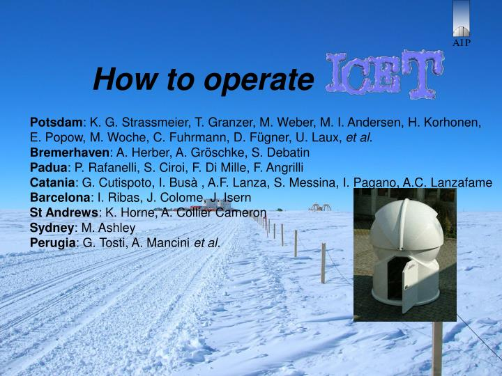 how to operate n.