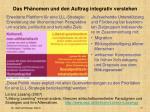 das ph nomen und den auftrag integrativ verstehen