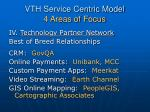vth service centric model 4 areas of focus4