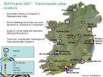 ida projects 2007 trend towards urban locations