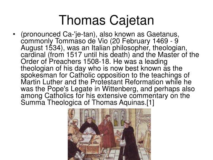 Thomas Cajetan