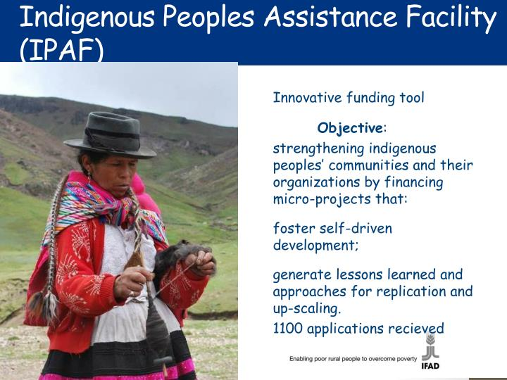 Indigenous Peoples Assistance Facility (IPAF)