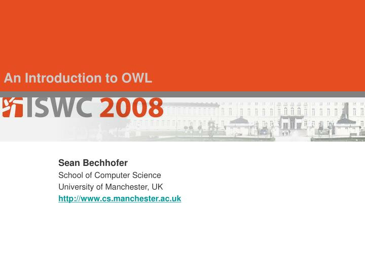 An introduction to owl