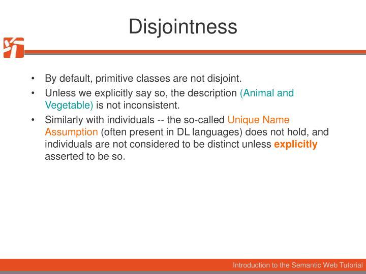 Disjointness