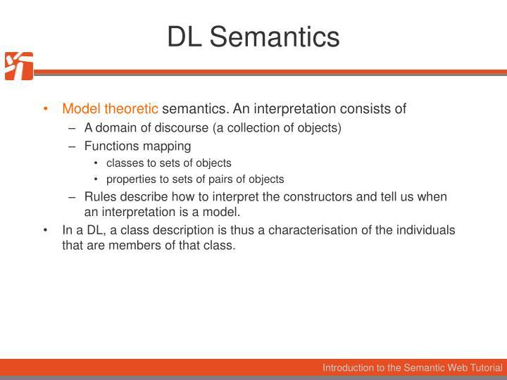 DL Semantics