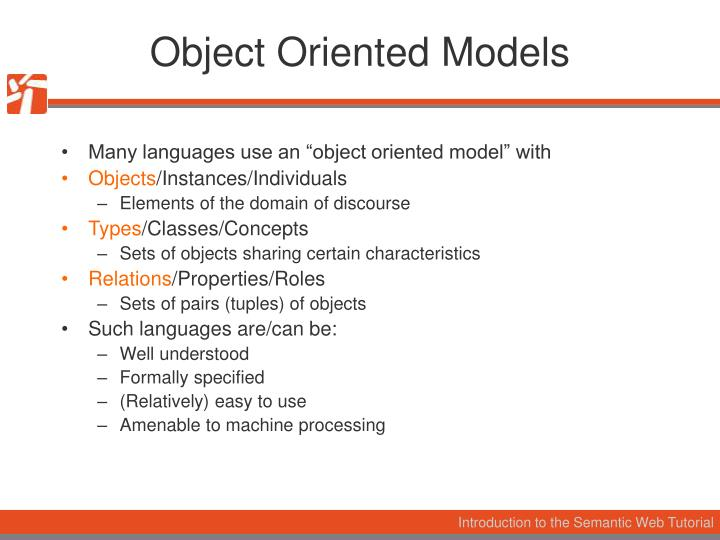 Object Oriented Models