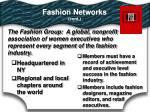 fashion networks cont