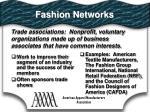 fashion networks