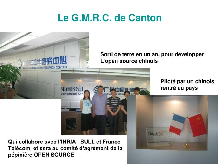 Le G.M.R.C. de Canton
