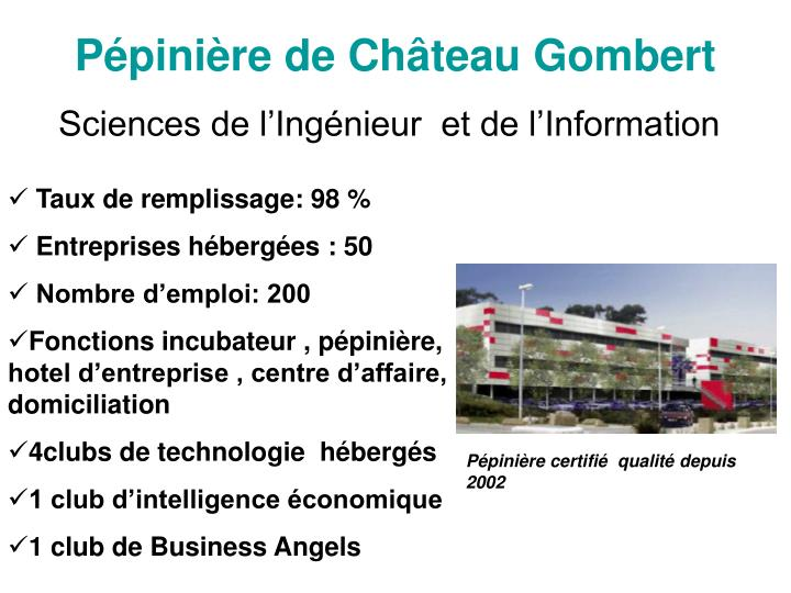 Pépinière de Château Gombert