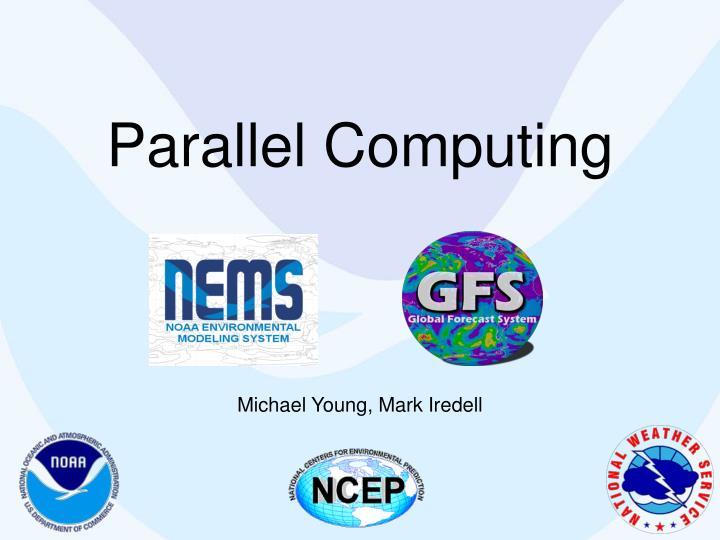 parallel computing n.